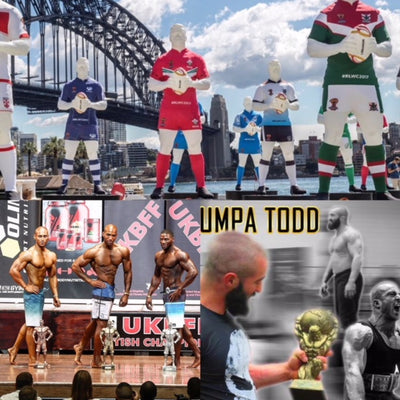 A World Cup, Britains Strongest Man & UKBFF British Finals- All in a weeks work for Team JBC