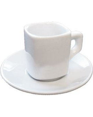 Armand Heavy Duty Espresso Cup and Saucer