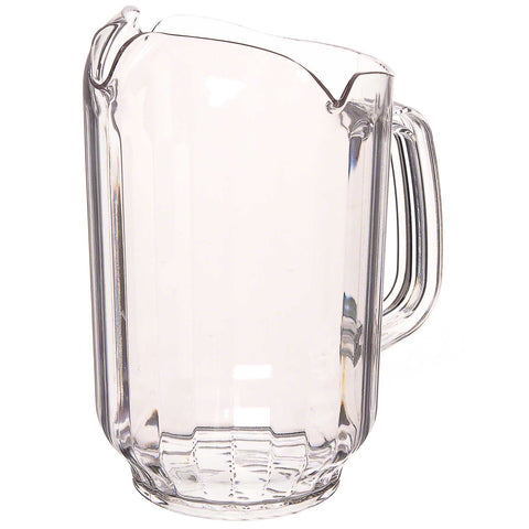 Thunder Group Acrylic Commercial Grade Pitcher - 1 L