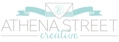Athena Street Creative is a full service creative studio that specializes in custom wedding invitations, and paper gifts.