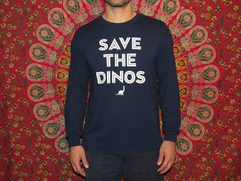 Save the Dinos Long Sleeve Tee