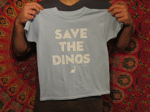 Save the Dinos Kids Tee