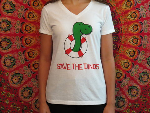 Women's Save the Dinos Tee