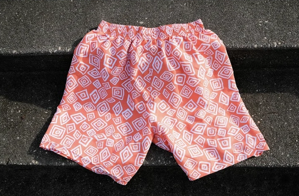 Men's Running Short - Orange