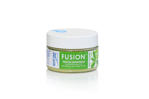 FUSION™ Matcha Lemongrass  Face & Body Sugar Scrub