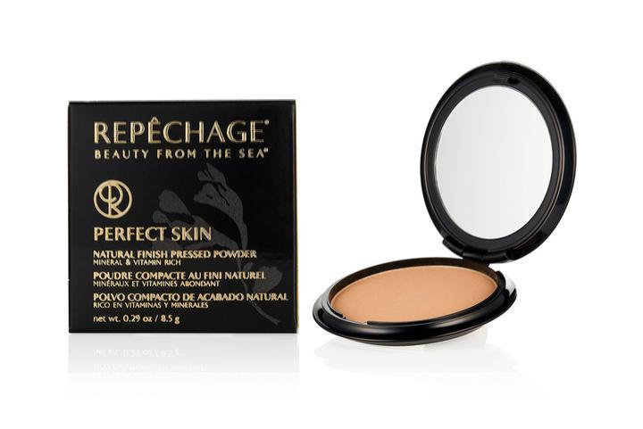 Perfect Skin Natural Finish Pressed Powder - Honey Beige