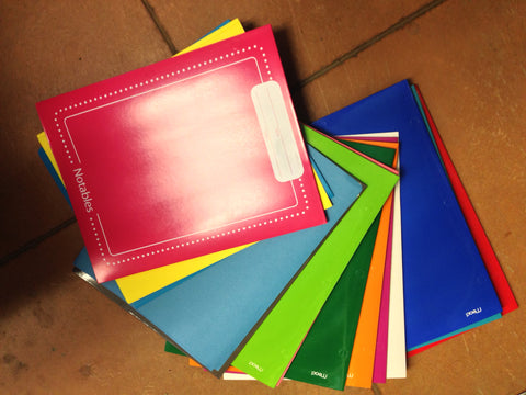 Pocket Folders, Assorted Colors