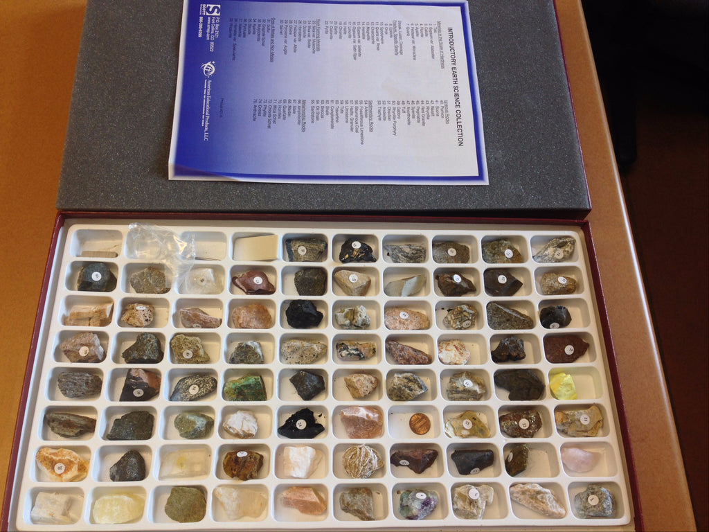Rock, Mineral, and Fossil Collections