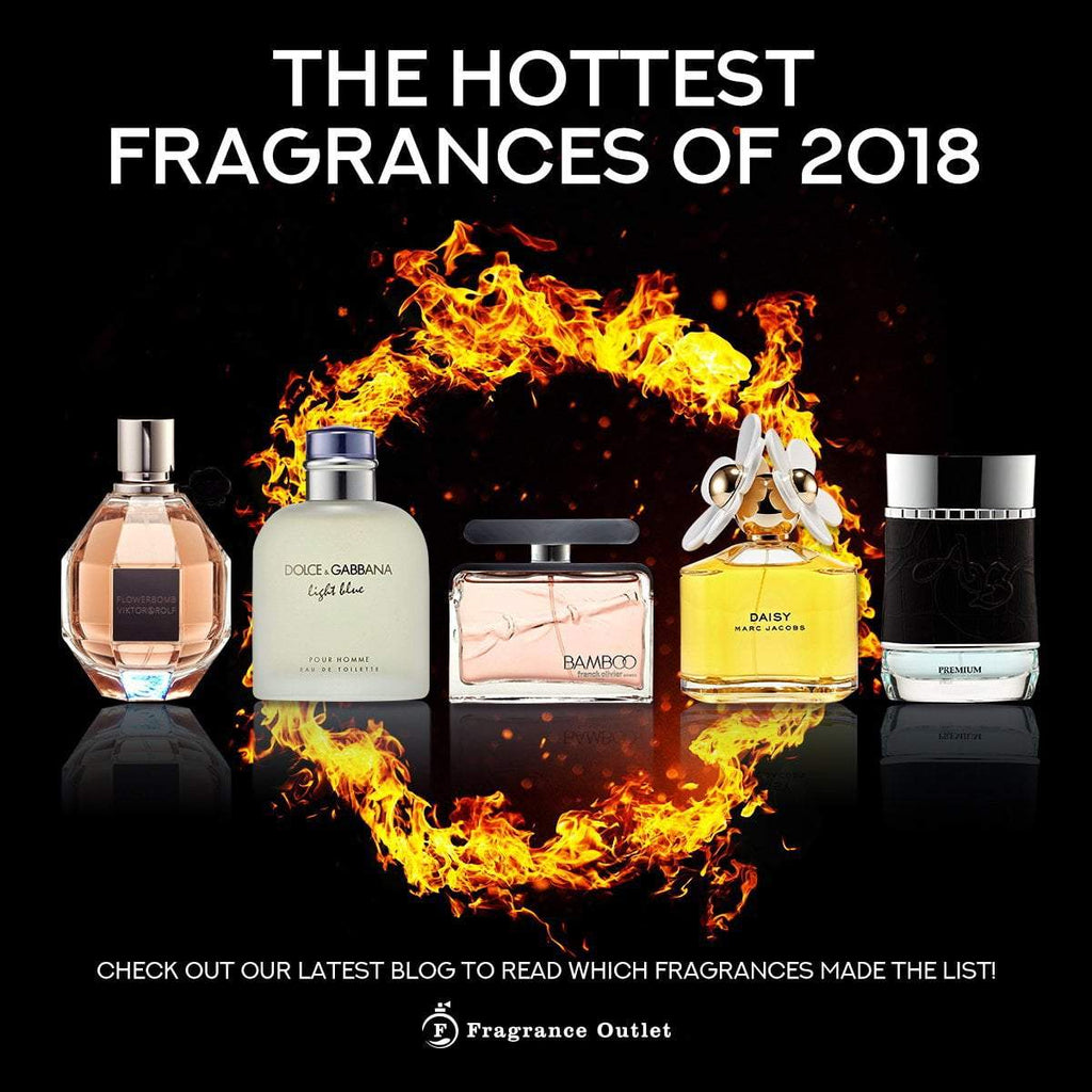 The Hottest Fragrances of 2018