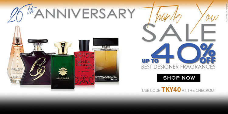 26th Anniversary Thank You Sale 40% OFF