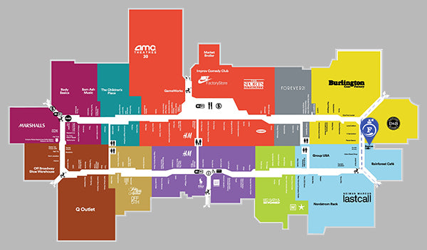Outlet California Map.Fragrance Outlet Fragrance Outlet At Ontario Mills Mall