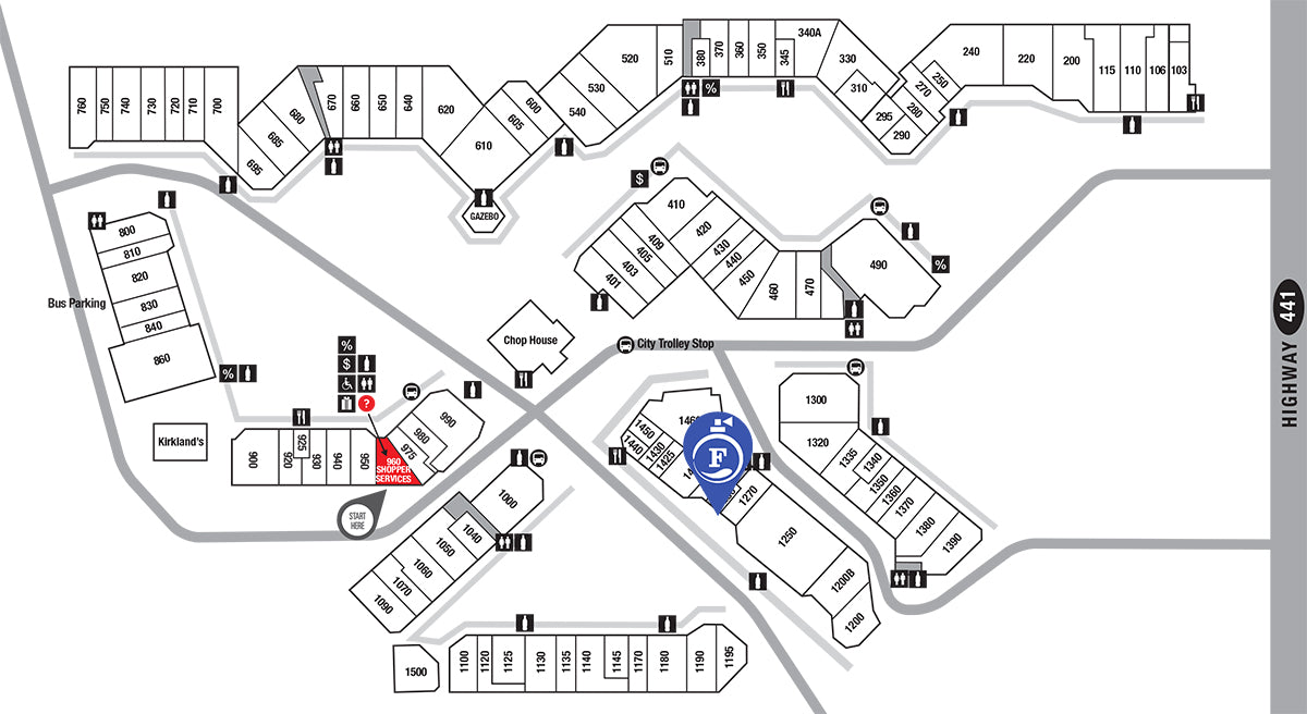 Tanger Outlet Pigeon Forge Map Fragrance Outlet | Fragrance Outlet at Tanger Outlet Center