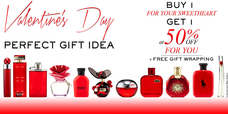 Valentine's Day Buy 1 Get 1 50% OFF