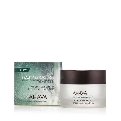 AHAVA - Beauty Before Age Uplift Day Cream SPF 20 Neutrogena Healthy Skin Anti-Wrinkle With Sunscreen SPF 15 1.40 oz (Pack of 3)