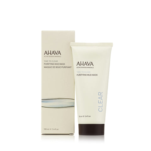 Time to Clear Purifying Mud Mask by Ahava 3.4 oz.