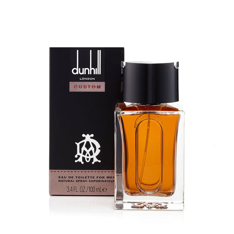 Alfred Dunhill Custom Eau de Toilette Mens Spray 3.4 oz.