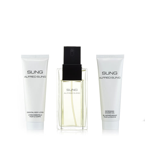 Alfred Sung Gift Set for Women by Alfred Sung 3.4 oz.