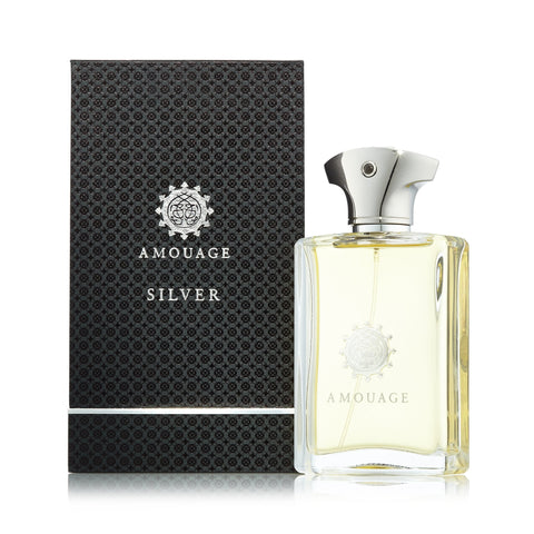 Silver Eau de Parfum Spray for Men by Amouage 3.4 oz.