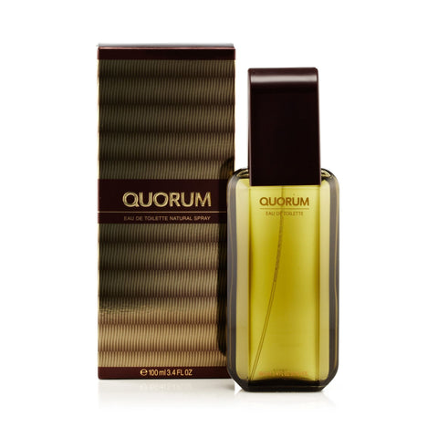 Antonio Puig Quorum Eau de Toilette Mens Spray 3.4 oz.
