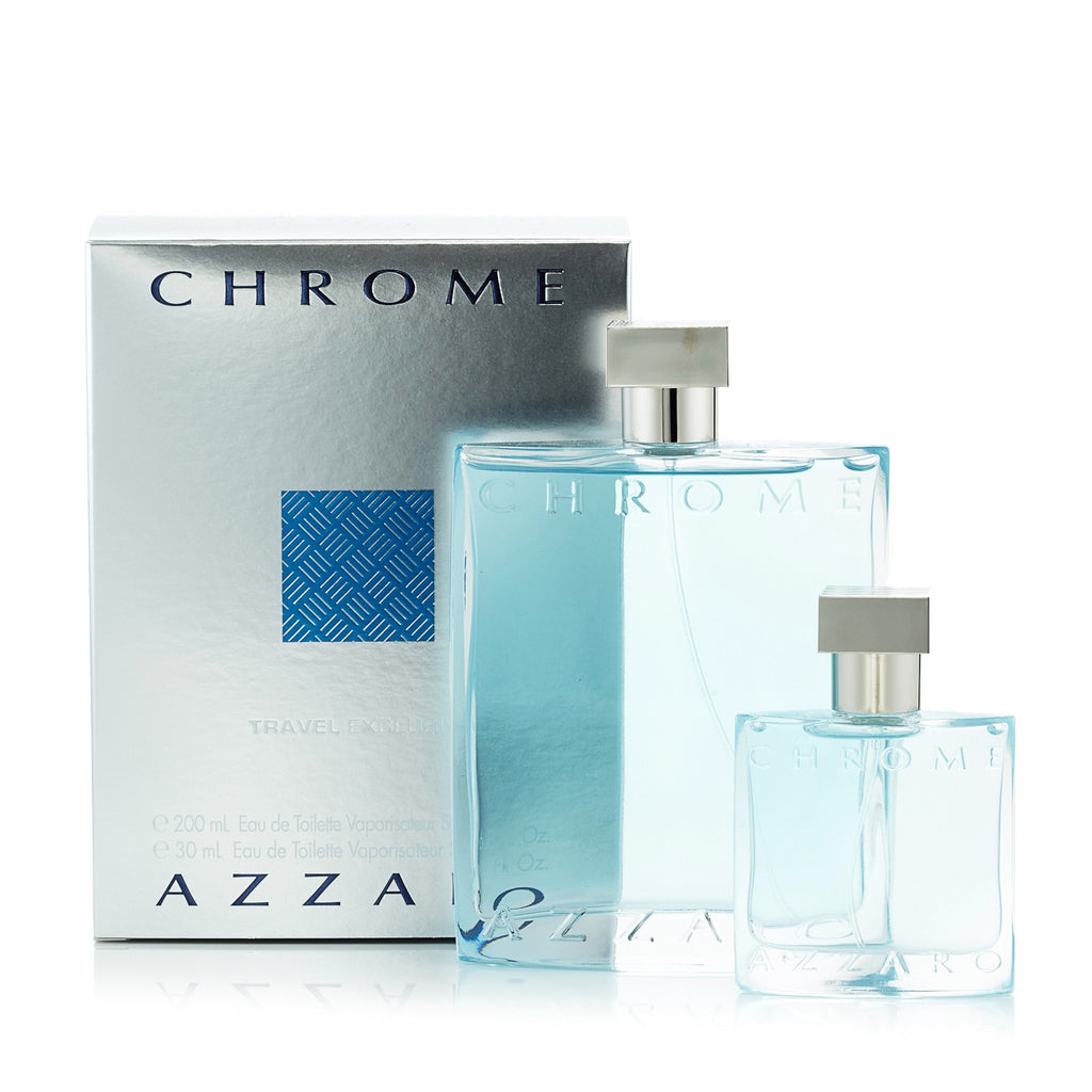Chrome Set for Men by Azzaro 6.7 oz.