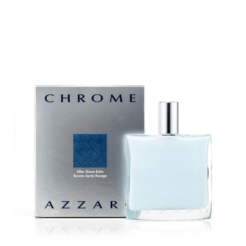 Azzaro Chrome After Shave Mens Balm 3.4 oz.