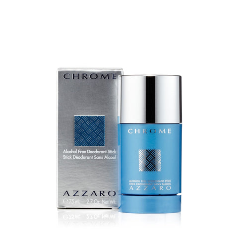 Azzaro Chrome Deodorant for Men 2.75 oz.