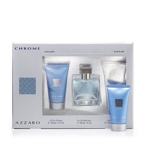 Chrome Gift Set for Men by Azzaro