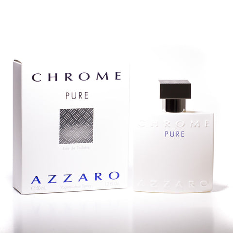 Chrome Pure Eau de Toilette Spray for Men by Azzaro 1.7 oz.image