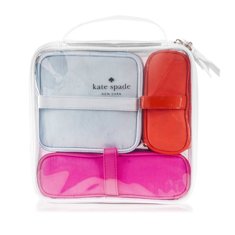 4 Piece Cosmetic Bag Set by Kate Spadeimage