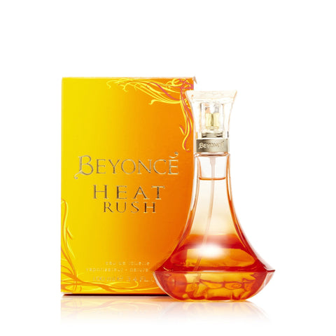 Beyonce Heat Rush Eau de Toilette Womens Spray 3.4 oz.