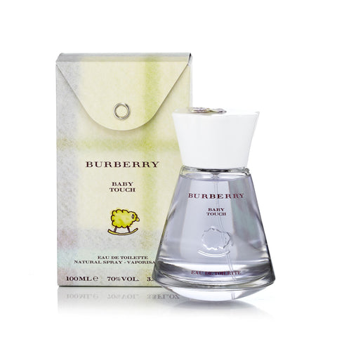 Baby Touch Eau de Toilette Spray for Women by Burberry 3.3 oz.