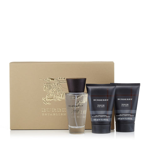 Burberry Touch Gift Set Mens 3.4 oz.