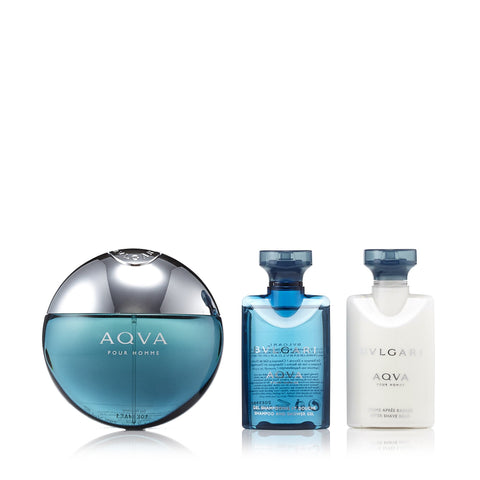 Aqva Gift Set for Men by Bvlgari 1.6 oz.