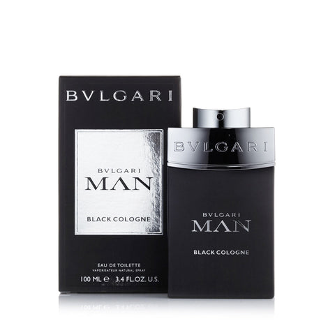 Man Black Cologne Eau de Toilette Spray for Men by Bvlgari 3.4 oz.
