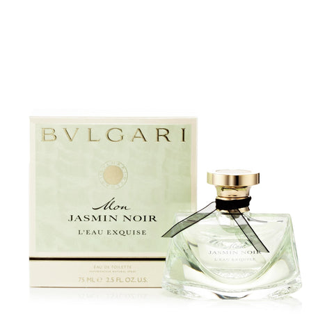 Bvlgari Jasmin Noir Mon L'Eau Exquise Eau de Toilette Womens Spray 2.5 oz.