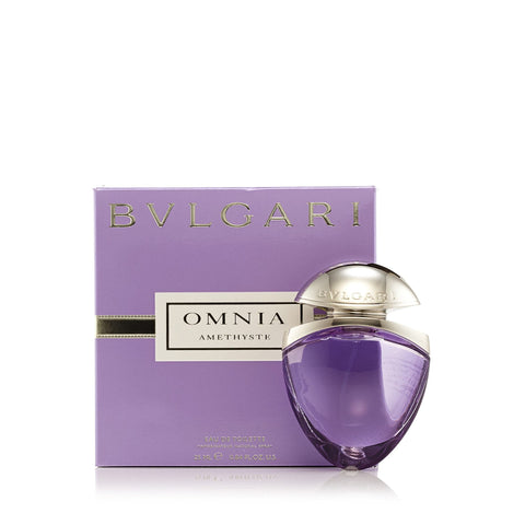 Omnia Amethyste Eau de Toilette Spray for Women by Bvlgari 0.84 oz.