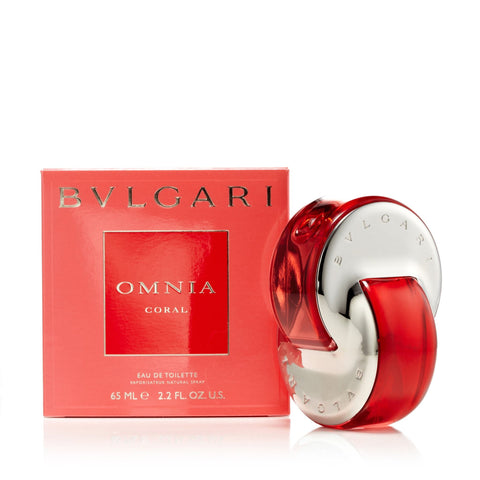 Bvlgari Omnia Coral Eau de Toilette Womens Spray 2.2 oz.
