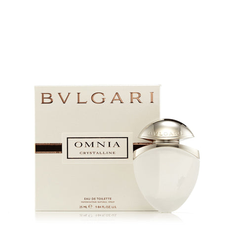 Omnia Crystalline Eau de Toilette Spray for Women by Bvlgari