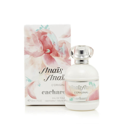 4f796e17194 Cacharel Anais Anais Eau de Toilette Womens Spray 1.7 oz.