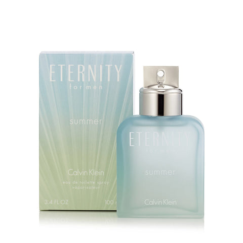 CK Eternity Summer 2016 Eau de Toilette Spray for Men by Calvin Klein 3.4 oz.