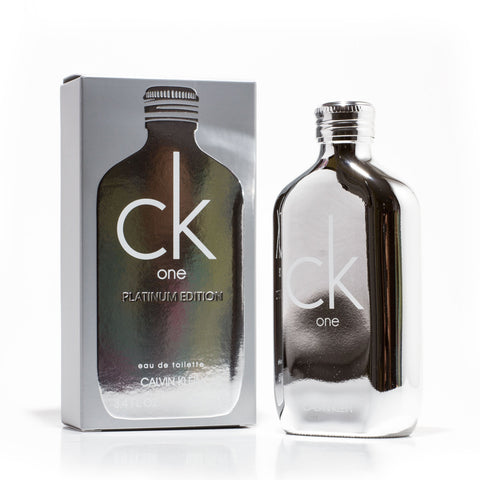 CK One Platinum Edition Eau de Toilette Spray for Women and Men by Calvin Klein