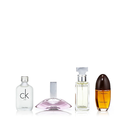 Calvin Klein Miniatures for Women by Calvin Klein 0.5 oz. Each
