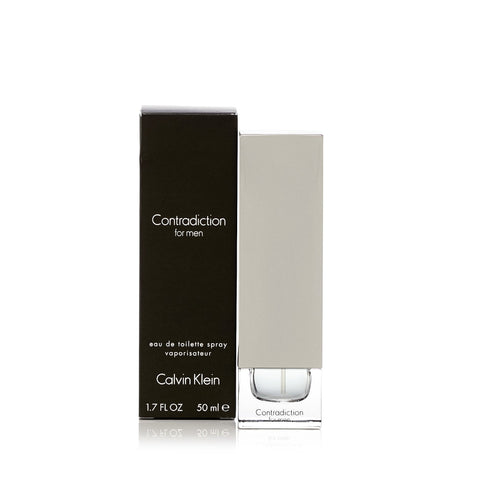 Contradiction Eau de Toilette Spray for Men by Calvin Klein 1.7 oz.