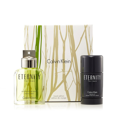 Eternity Eau de Toilette Spray and Deodorant for Men by Calvin Klein 3.4 oz.