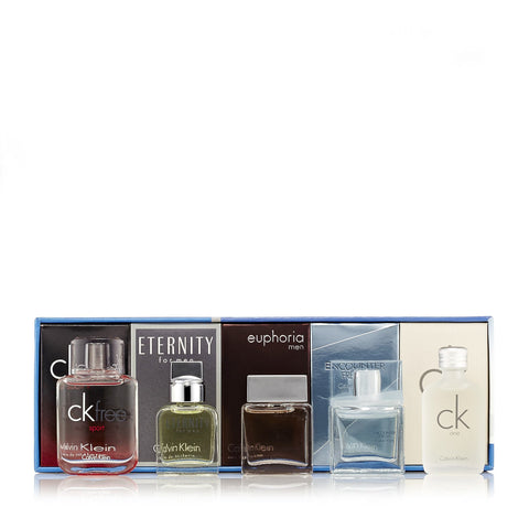 Calvin Klein Miniature Gift Set for Men by Calvin Klein 0.33 oz. Each