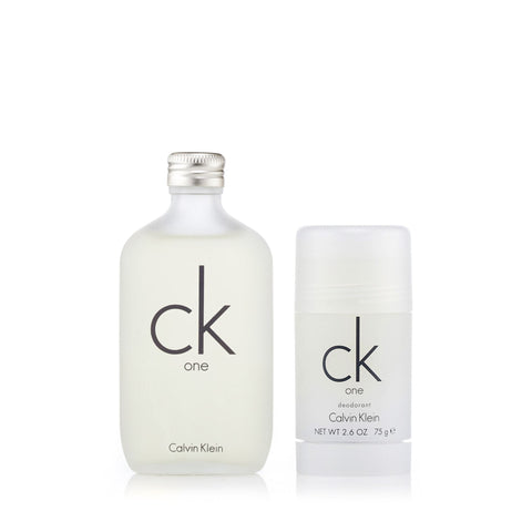 CK One Gift Set EDT and Deodorant for Women and Men by Calvin Klein 3.4 oz.