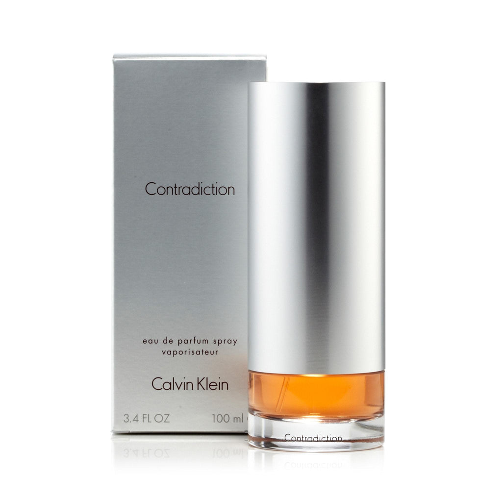 Calvin Klein Contradiction Eau de Parfum Womens Spray 3.4 oz.
