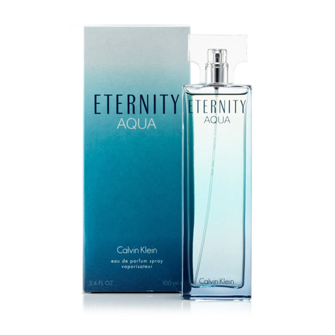 Eternity Aqua Eau De Parfum Spray For Women By Calvin Klein