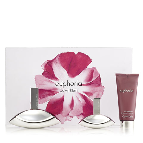 Euphoria Gift Set for Women by Calvin Klein 3.0 oz.