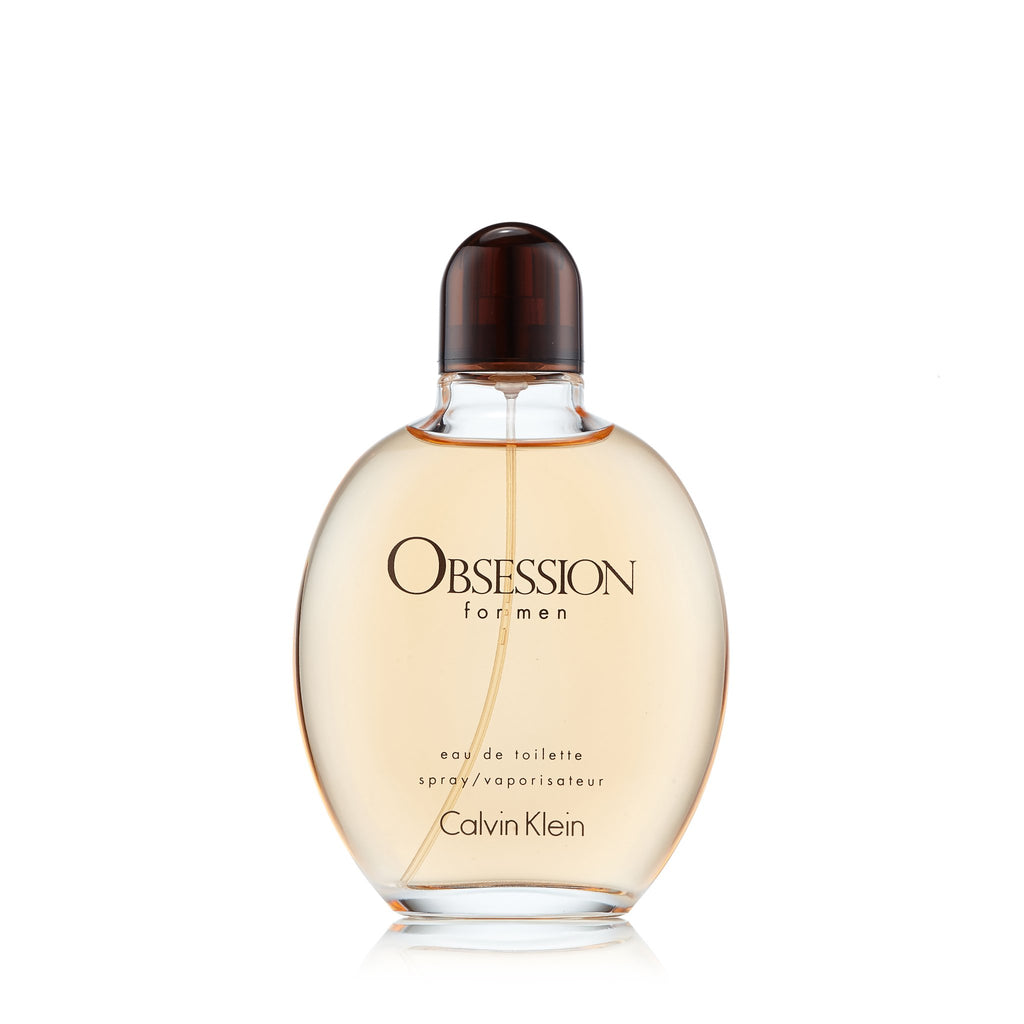 Obsession Eau de Toilette Spray for Men by Calvin Klein 6.7 oz.